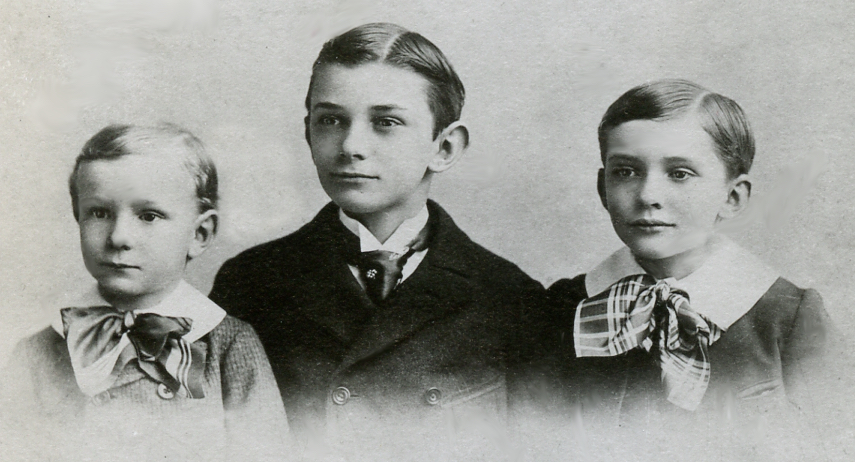 Sarah's surviving sons, John, Caleb, George.
