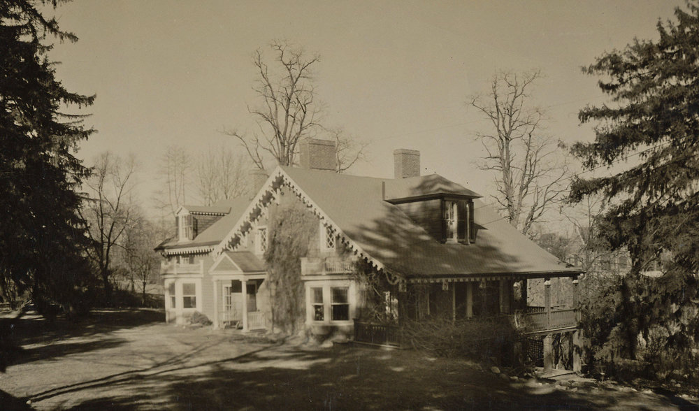 Crawford-Morris-Popham House, date unknown.