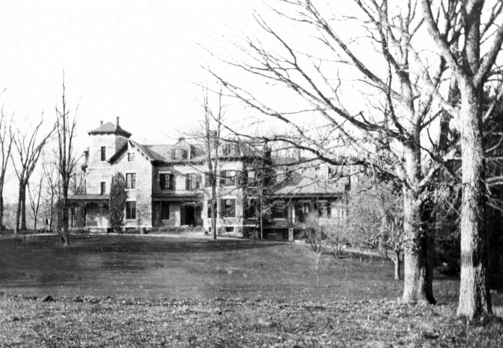Carmer-Crane Mansion, date unknown.