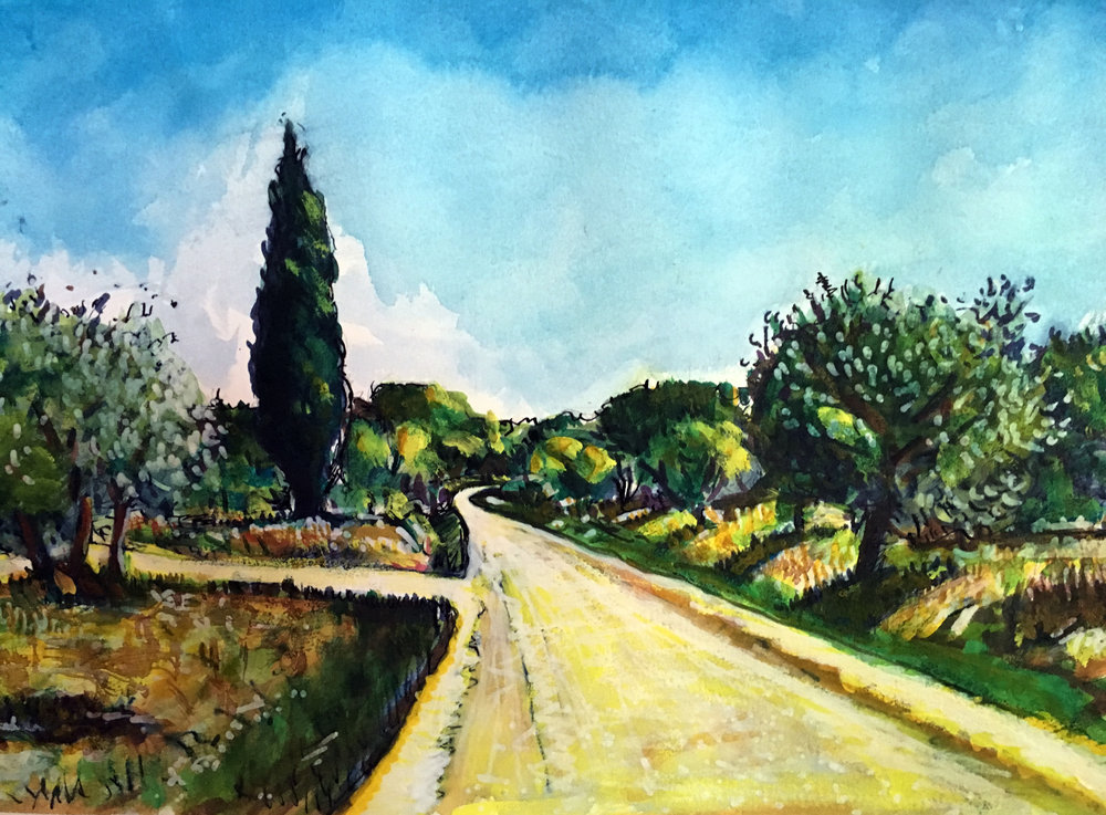 Road to Aurielle (SOLD)