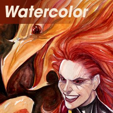 Watercolored art