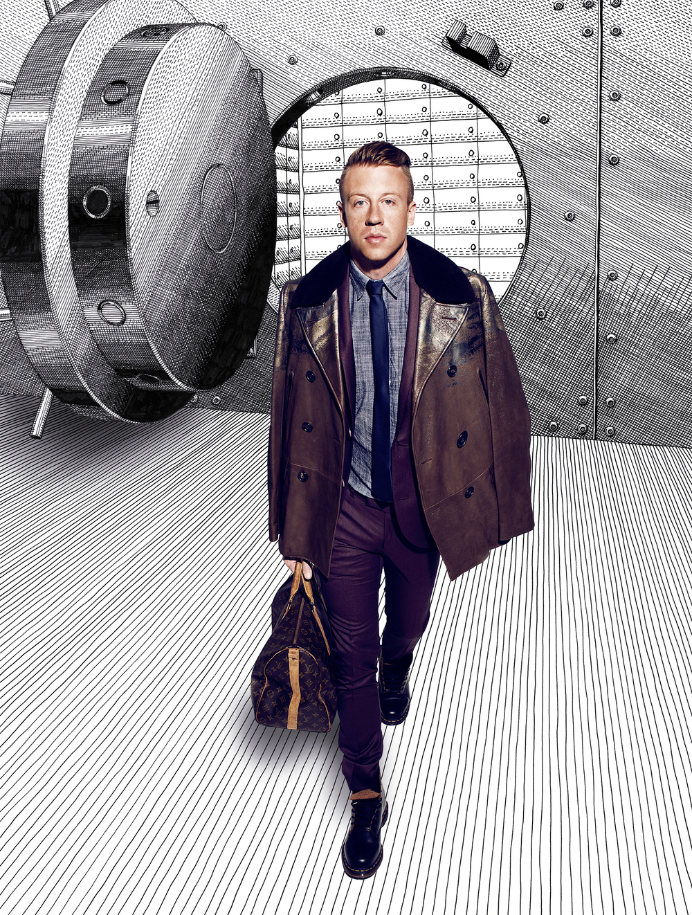 Macklemore for FASHIONISTO