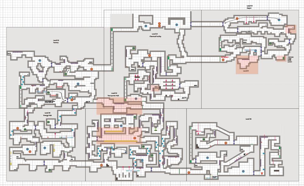 Illustrator Level Layout