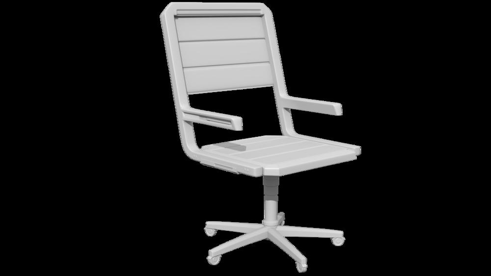 Chair highpoly render