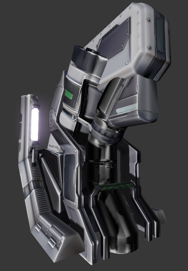 Final in-engine mesh.