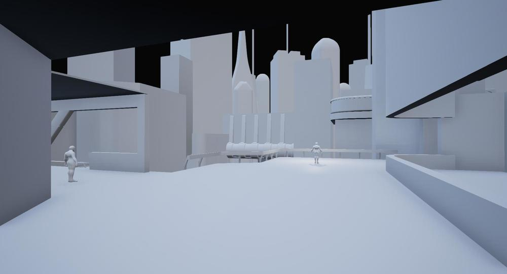 Exported blockout assets in UE4