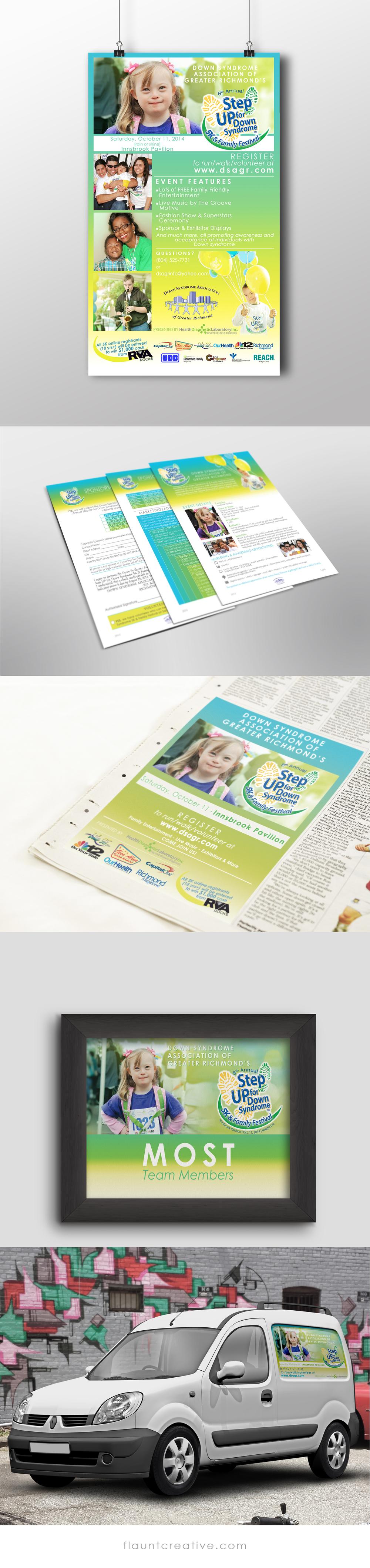 Print + Web AdvertisingMore at www.flauntcreative.com