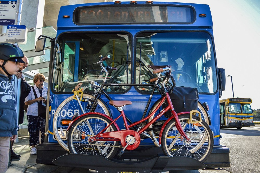 The Nerve-Wracking Experience of Putting Bikes on the Bus