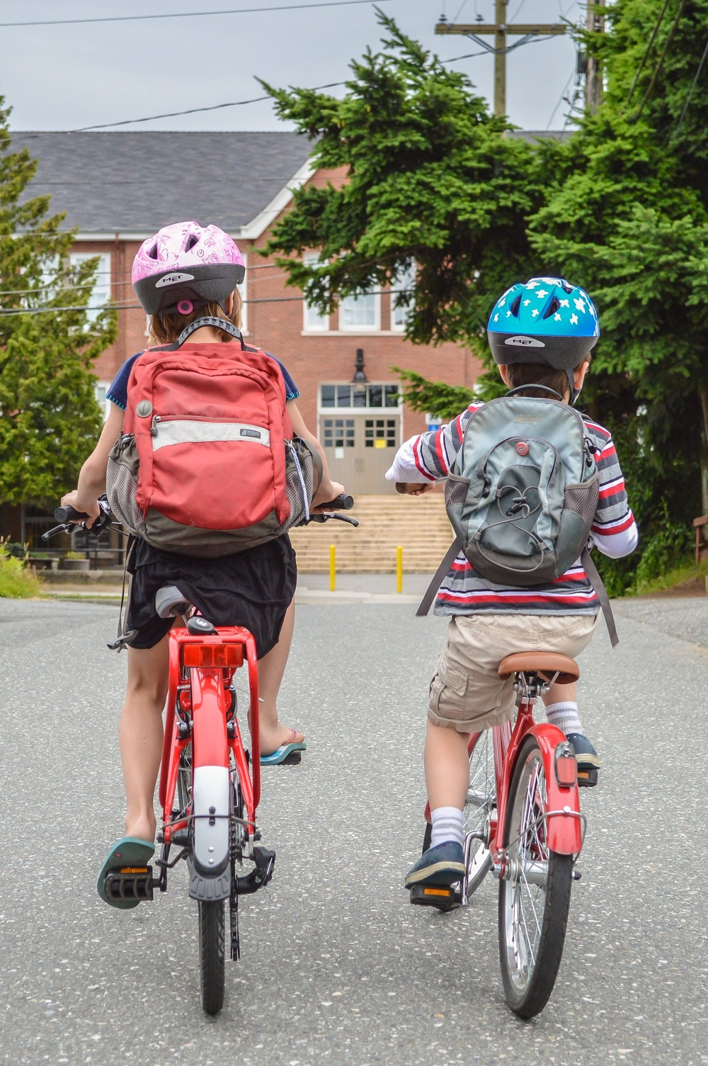 Riding to school is a key ingredient to our children's well-being.