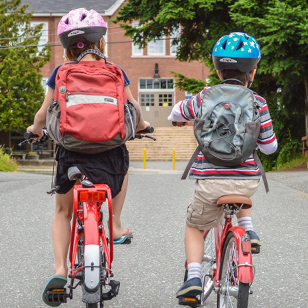 An Education on Riding a Bike to School