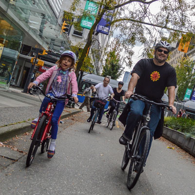 Looking Beyond Commuter Cycling in Vancouver