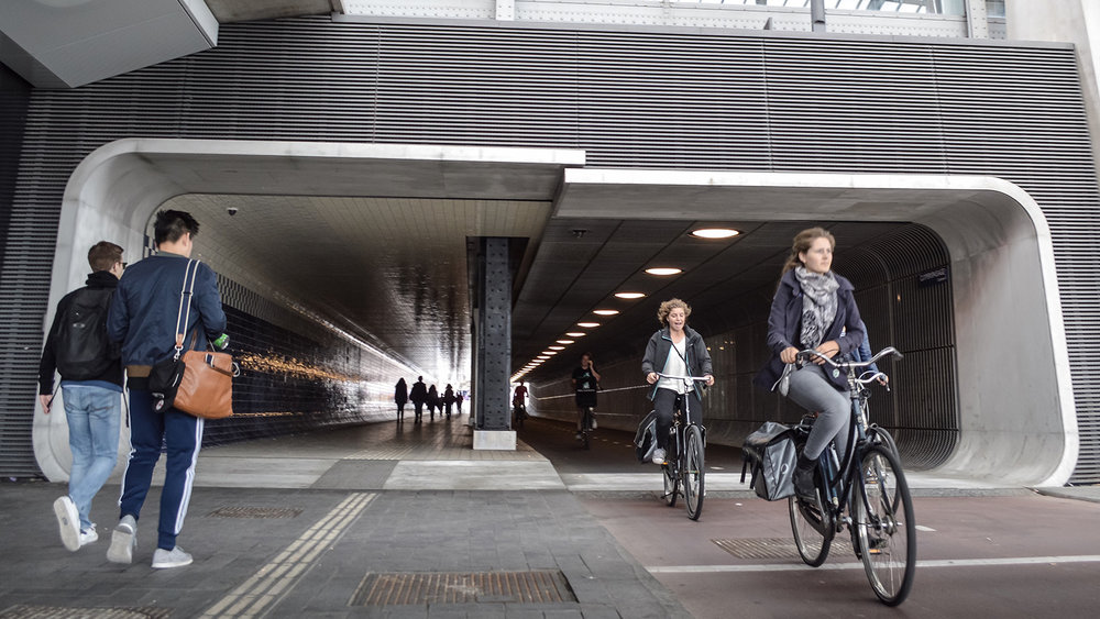 Amsterdam's Urban Cycling Utopia: A Product of Demand Rather Than Design