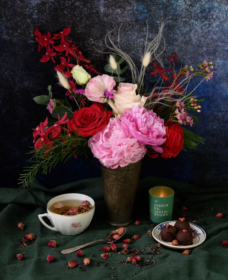 Valentine's 2019 - Let love blossom.This Valentine's, we turn back to the time-honoured, combination of roses, chocolate and tea.