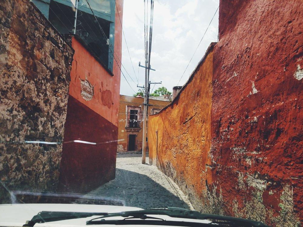 The tiny streets