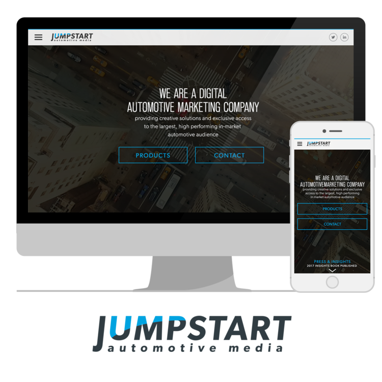 UI/UX DESIGN  Jumpstart Automotive Media     VIEW PROJECT       >