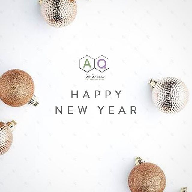 From all of us at AQ Skin Solutions Malaysia, Happy New Year 2018!