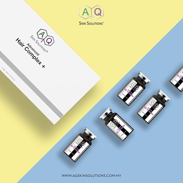 Nourishing, moisturising, replenishing. . AQ Advanced Hair Complex is a natural Growth Factor serum that targets conditions of thinning hair, hardening of the scalp and wearing of hair follicles. . . . . #AQSkinSolutionsMalaysia #AQSkinSolutionsMY #AQSkinSolutions #GrowthFactors #GrowthFactorsMY #WhereScienceMeetsSkincare #AQAdvancedHairComplex #Beauty #Hairloss #HairTreatment