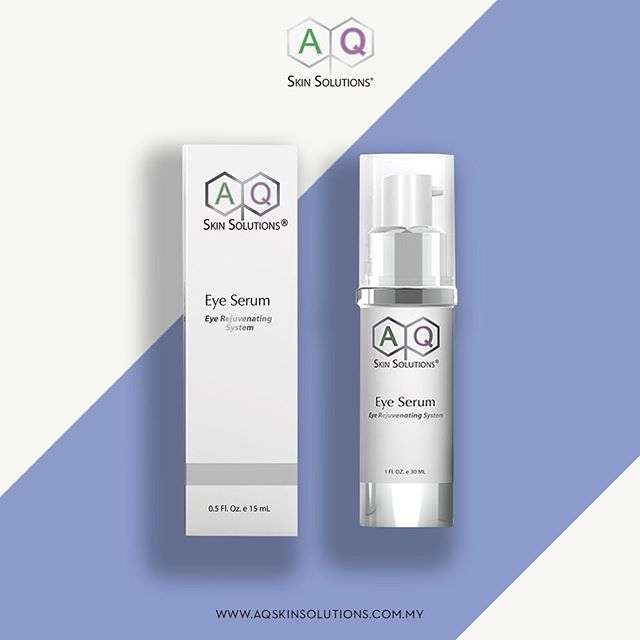 Treat your eyes to a pampering session this weekend with the AQ Eye Serum. . This highly active serum contains stem cell-derived Growth Factors to renew skin and accelerate skin cell regeneration. . Learn more at www.aqskinsolutions.com.my . . . . #AQSkinSolutions #AQSkinSolutionsMalaysia #MYAQSkinSolutions #WhereScienceMeetsSkincare #GrowthFactors #GrowthFactorsMalaysia #AQEyeSerum #Beauty #Skincare