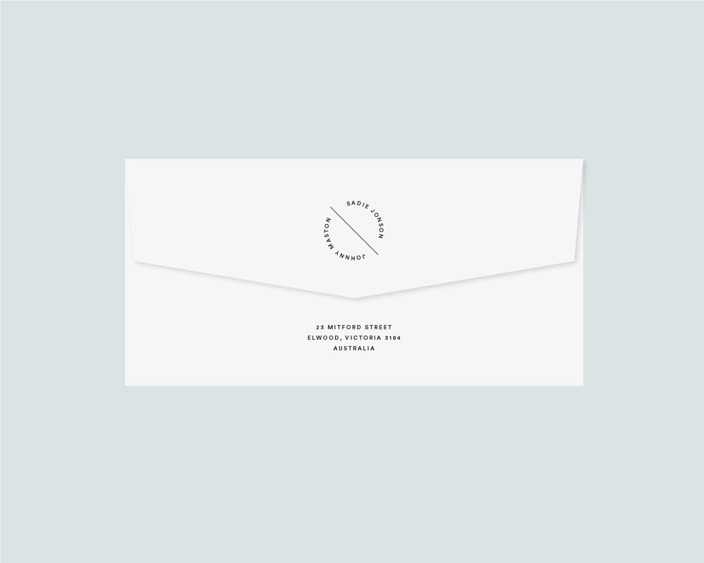 Envelope sticker