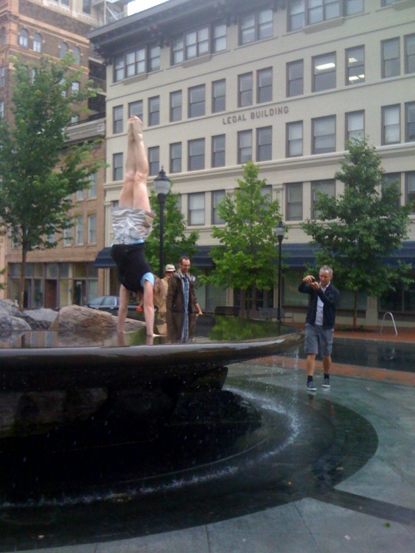 Handstand IN the Asheville Fountain - Nailed It!.jpg