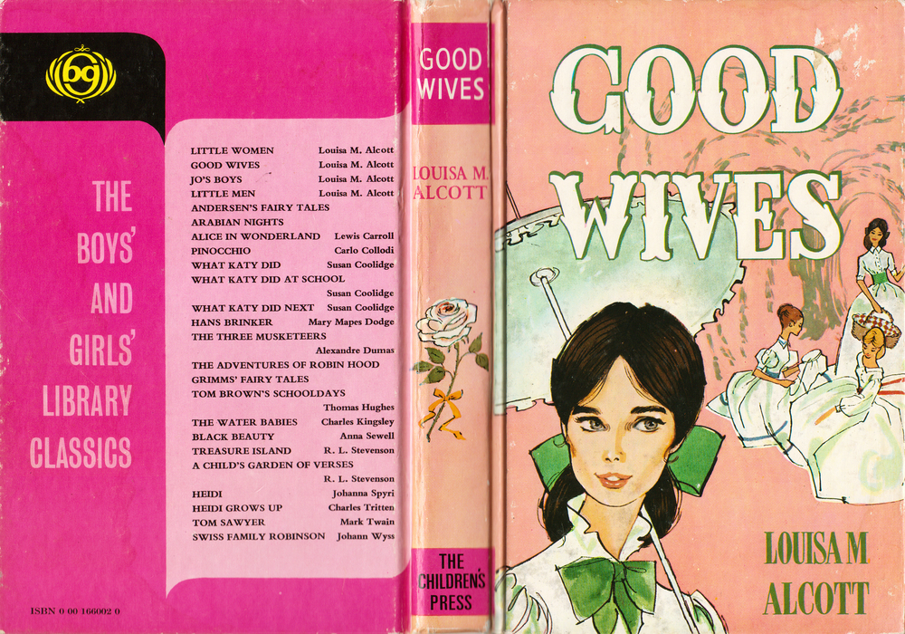 """Good Wives"" by Louise May Alcott, 1974 edition"