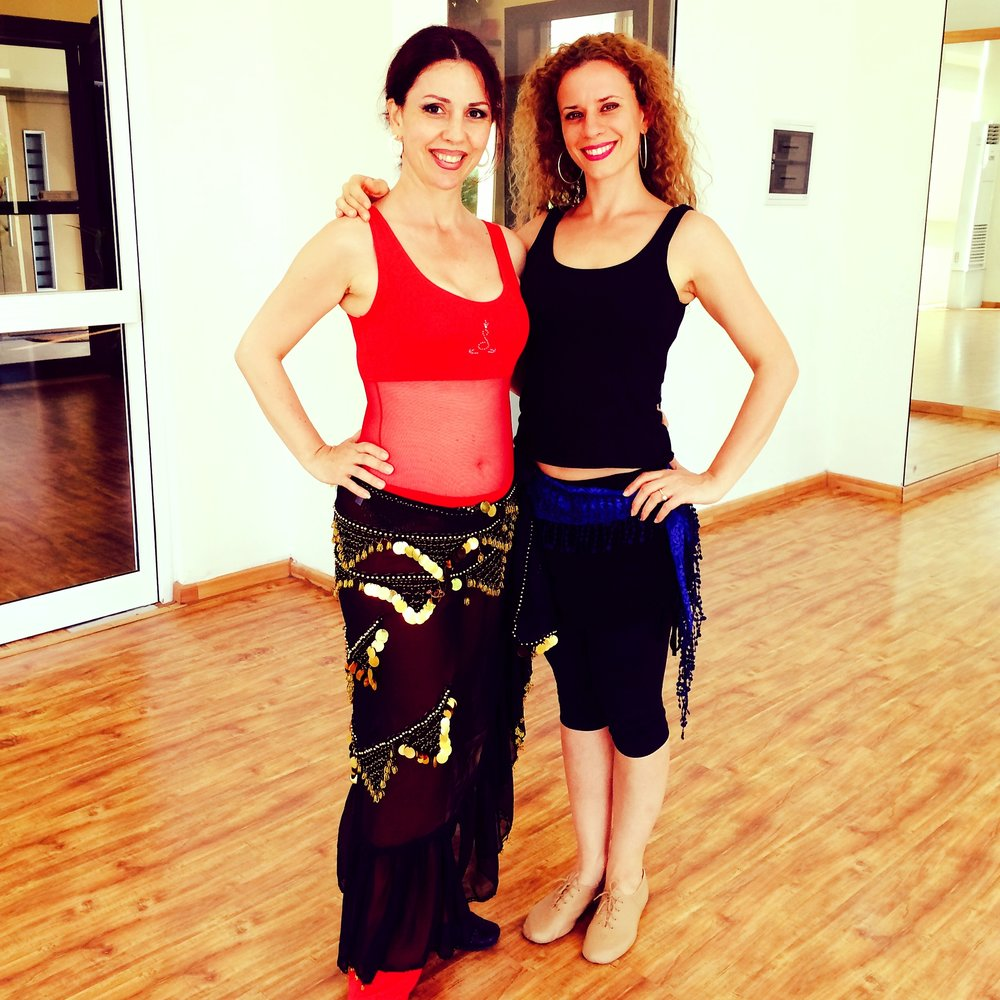 after an intensive private workshop with belly dance superstar Amani of lebanon, 2016
