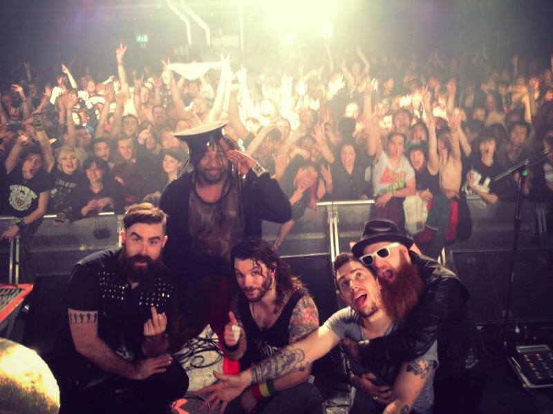 The London Forum. Credit: Skindred Official Facebook.