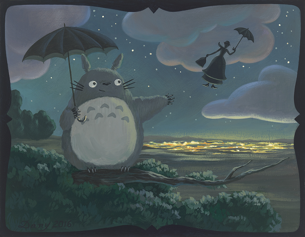Mary and Totoro