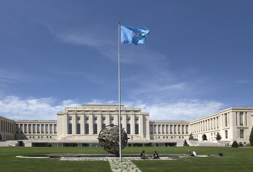 Palais des Nations, Geneva - Photo: Martin Good