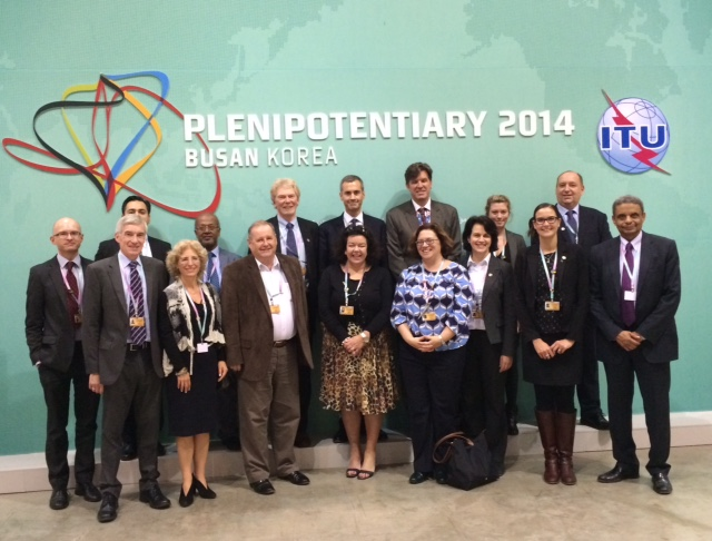 IDEA Joins UK Delegation to ITU's 14th Plenipotentiary, Busan Korea
