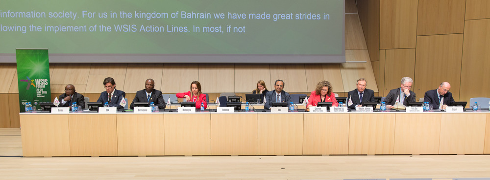 High Level Panel Speakers, WSIS Forum 2015
