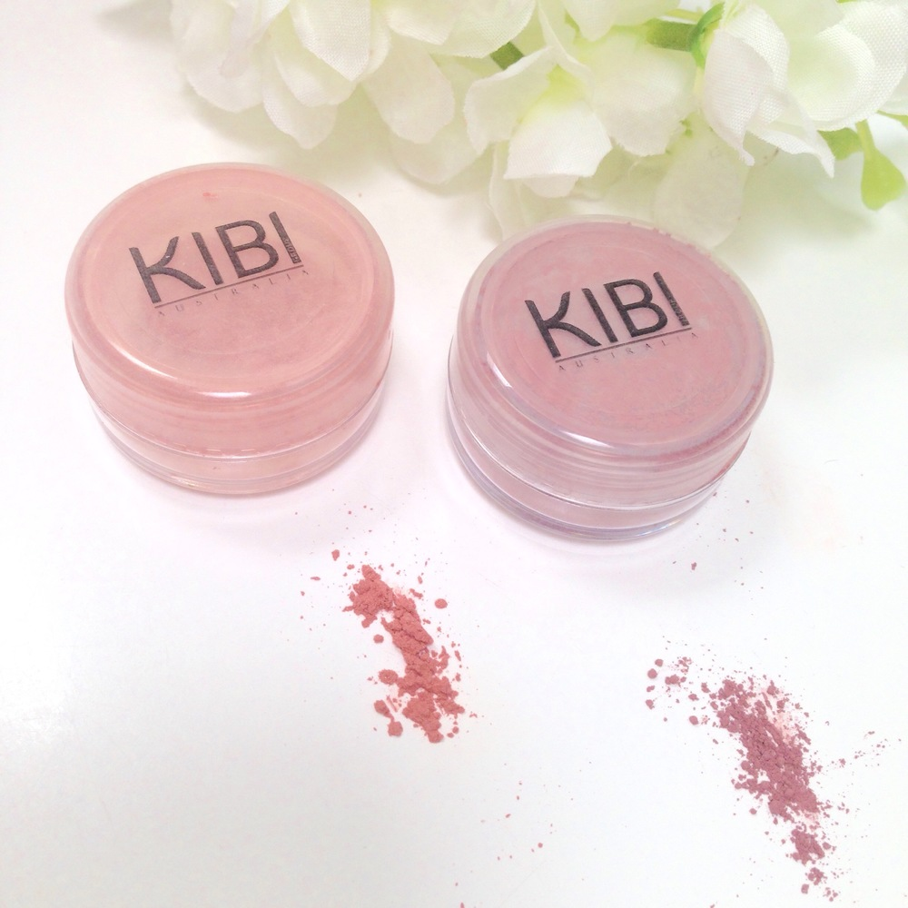 Left- Peach Blush, Right- Blossom Blush