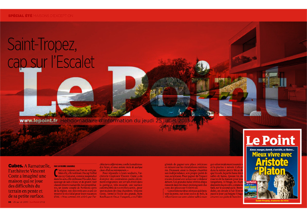Le Point / July 2013