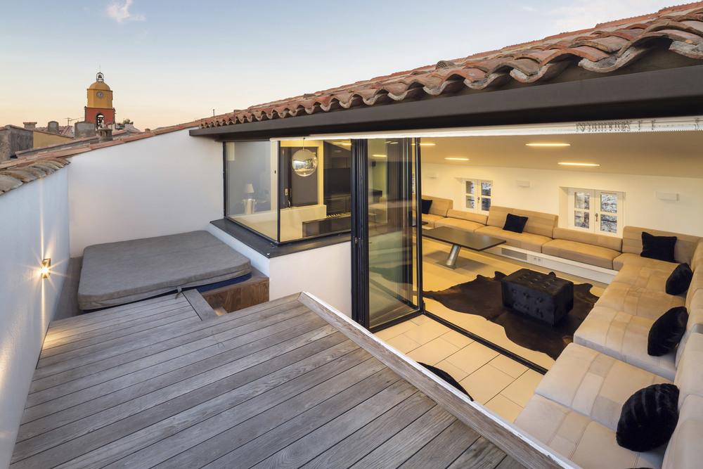 r ception de l 39 appartement d2 vincent coste architecte saint tropez. Black Bedroom Furniture Sets. Home Design Ideas