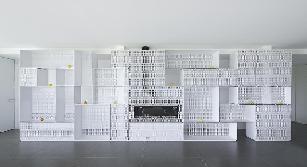 Bibliothèque A / Vincent coste design studio & associés