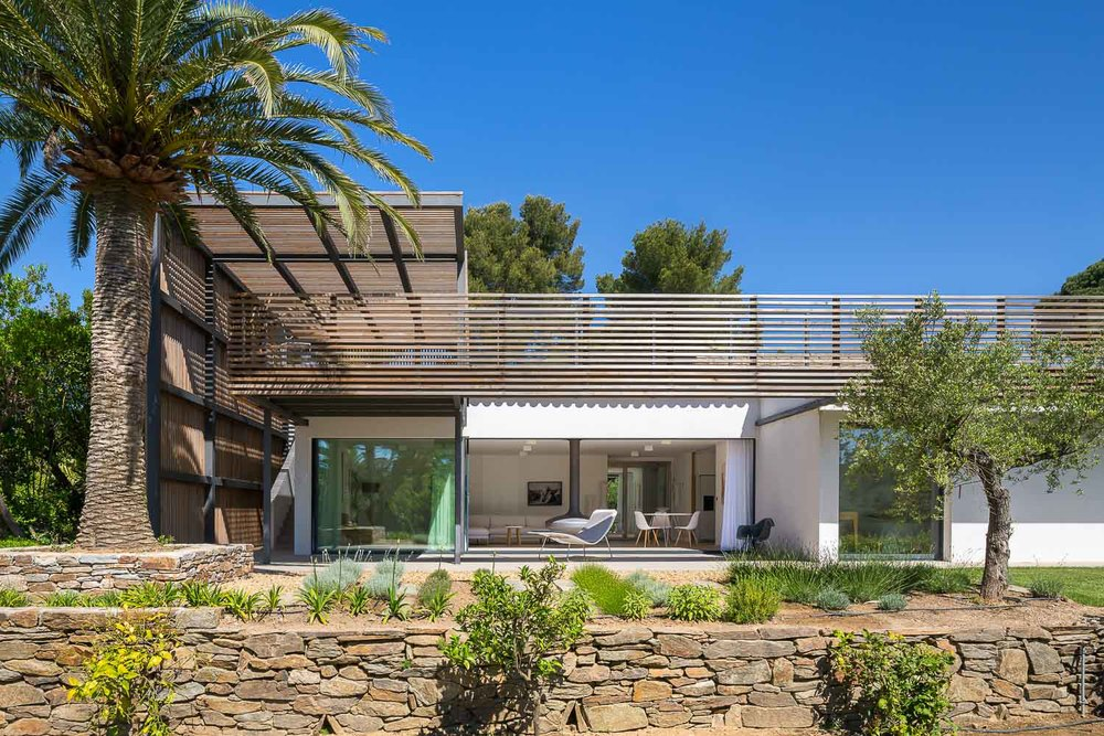 Proj maison l2 vincent coste architecte saint tropez for Architecte saint tropez