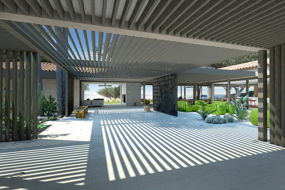 Proj maison b3 vincent coste architecte saint tropez for Architecte saint tropez
