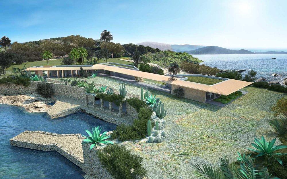 Maison H2 • Corse •