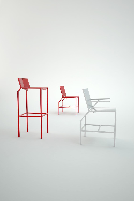 Chaise •Koï•
