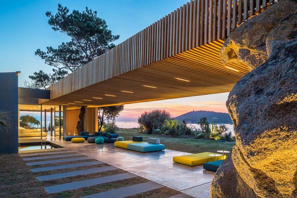 Maison h2 • corse vincent coste • architecte
