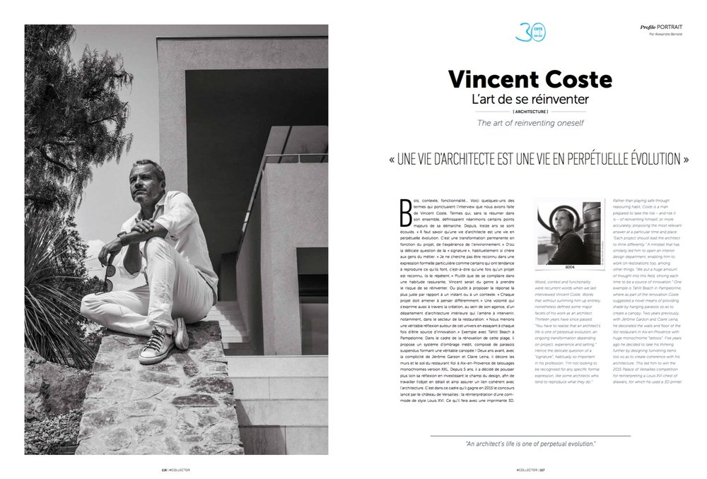 Vincent Coste - Cote Magazine