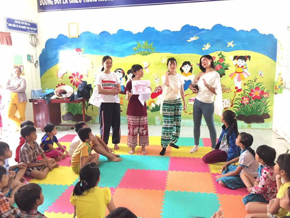 Introduce about Thai Culture to Vietnamese kids - STEP Summer Camp 2017