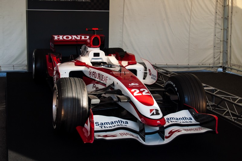 The F1 SA07, Super Aguri's F1's Formula One car for the 2007 Formula One season. (Flickr/nhayashida