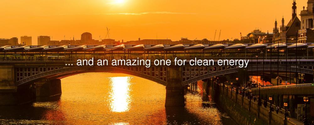 Solar panels covering Blackfriars Bridge, London (Image credit: Mayor of London Office )