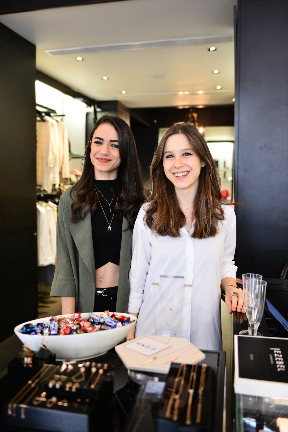 Yasmin & Tumay at the Wolf & Badger Meet The Maker Event