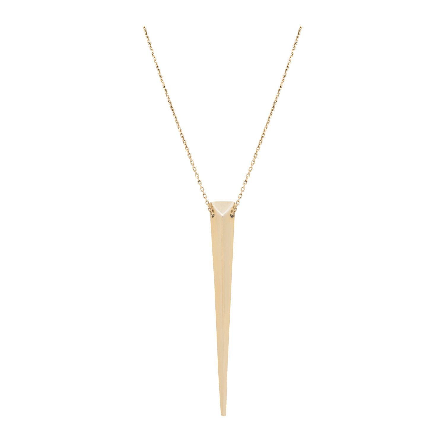 shop plain e necklace soho jezebel london jewellery jl