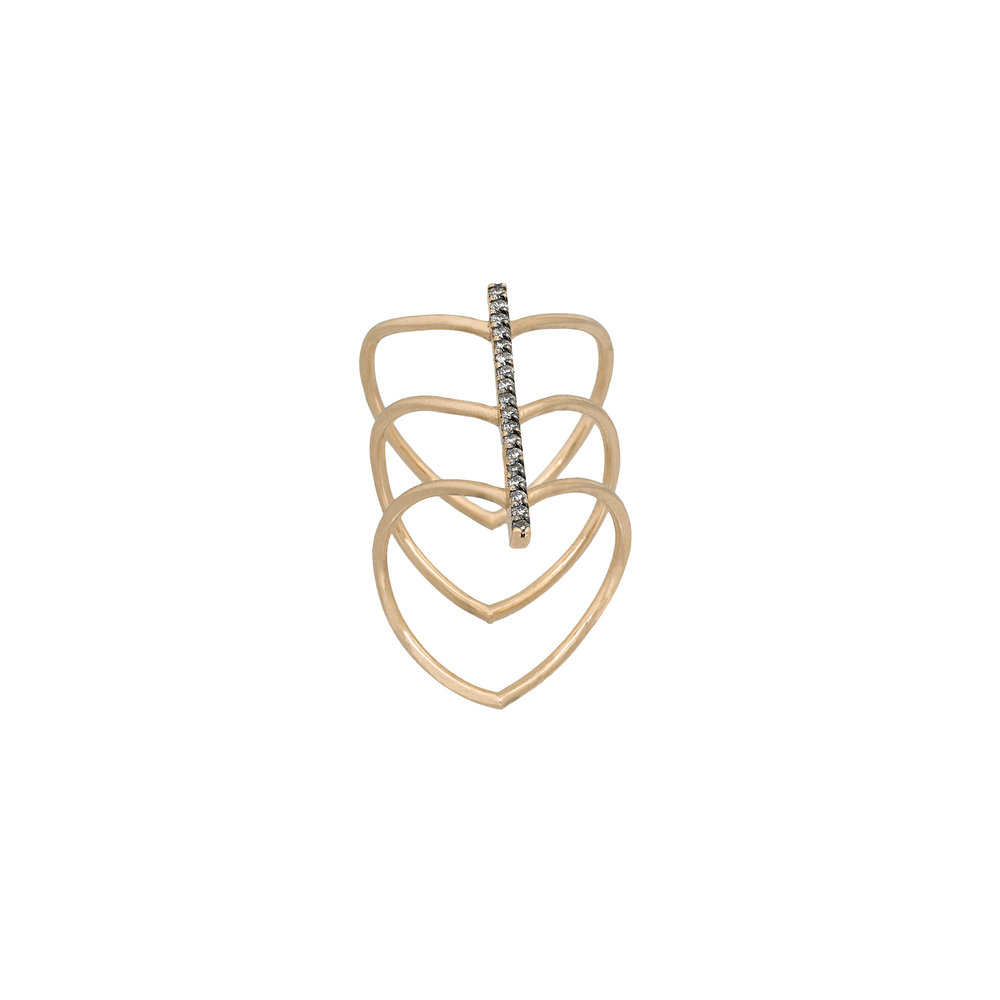 Jezebel London Dalston Midi Ring