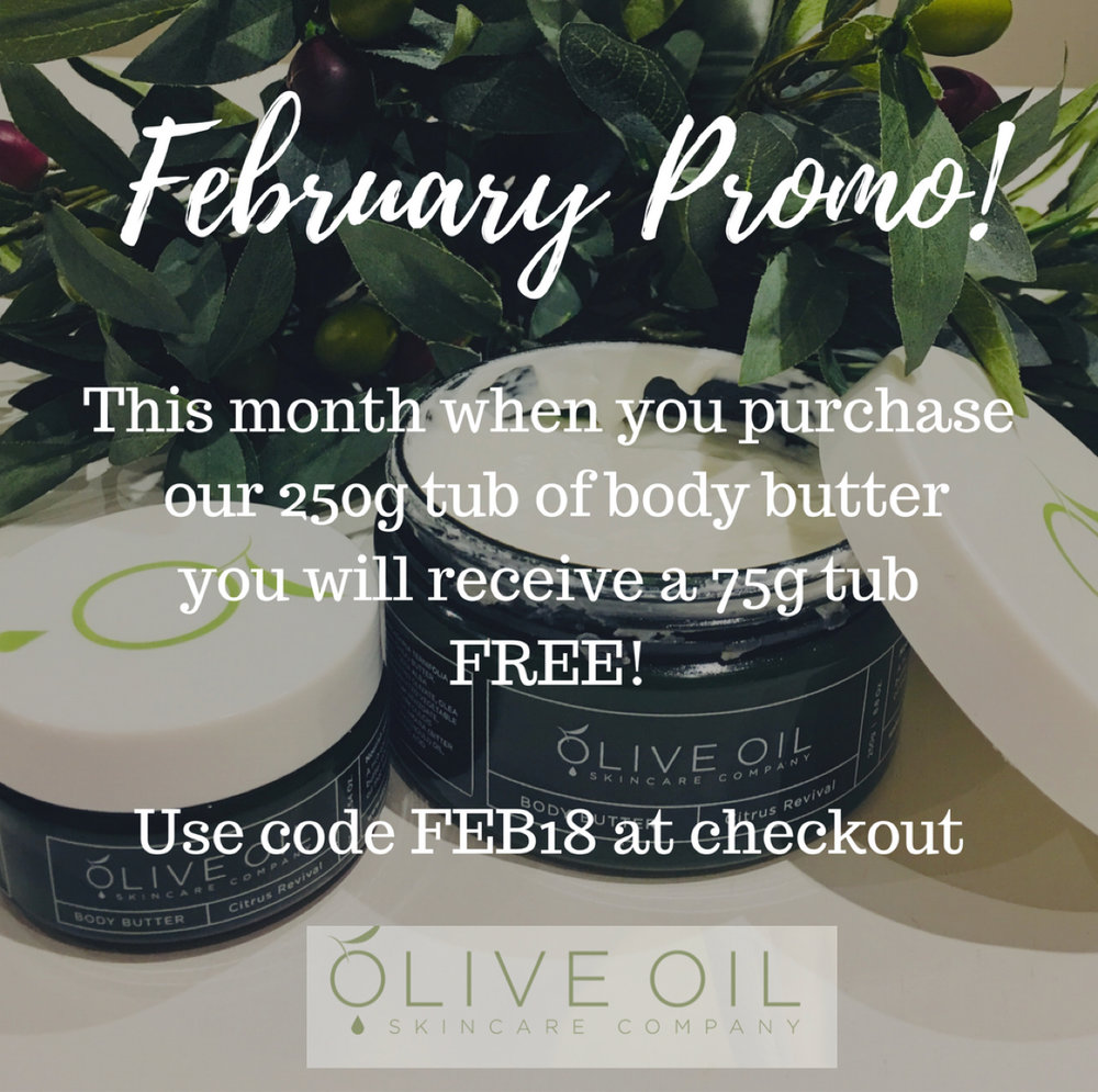 Body Butter Duo Promotion - Offer Ends 28 Feb 2018
