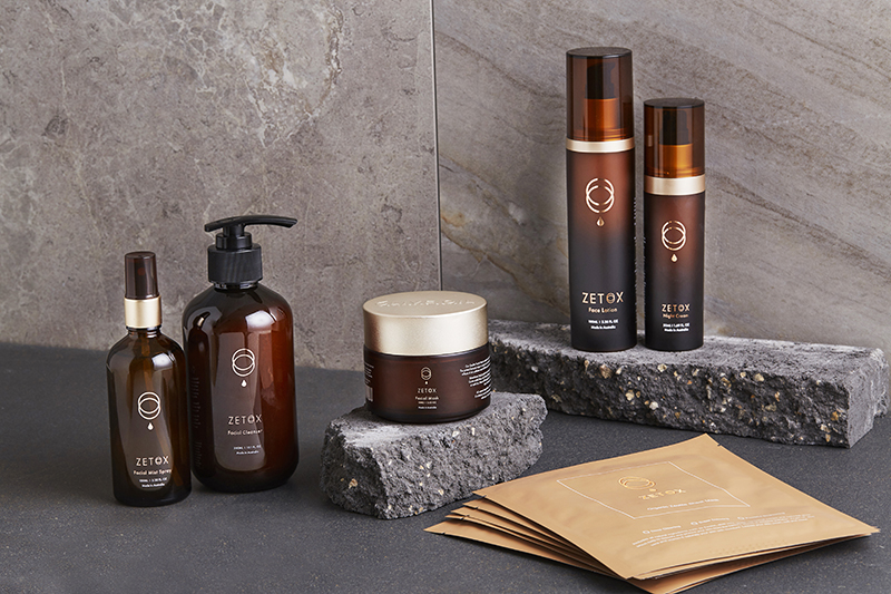 ZETOX This range offers all-natural skincare to detoxify, brighten and purify the skin.
