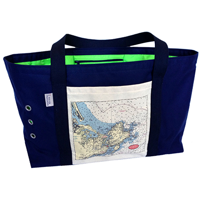 851acd81fb50 Cape Ann Marina Beach Bag — Not for Navigation